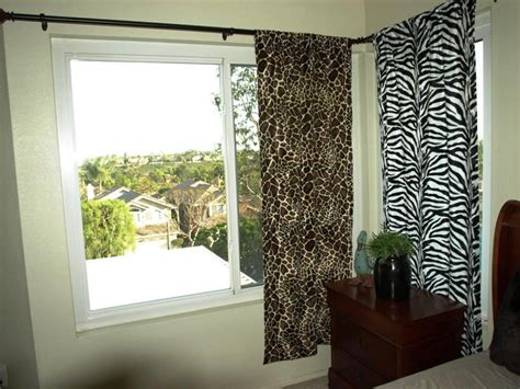 Animal Print Curtains For Bedroom