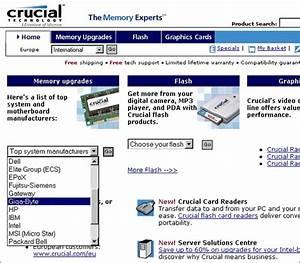 Motherboard Memory Identification