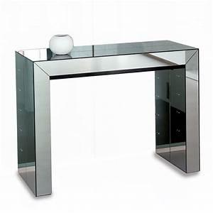 Console Transformable En Table : table console miroir meubles et atmosph re ~ Teatrodelosmanantiales.com Idées de Décoration
