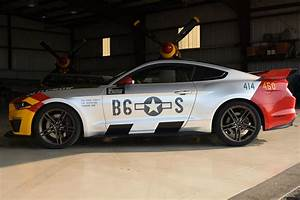 P-51-Inspired Ford Mustang GT 'Old Crow' Sells for Staggering $400,000 at Auction - The Drive