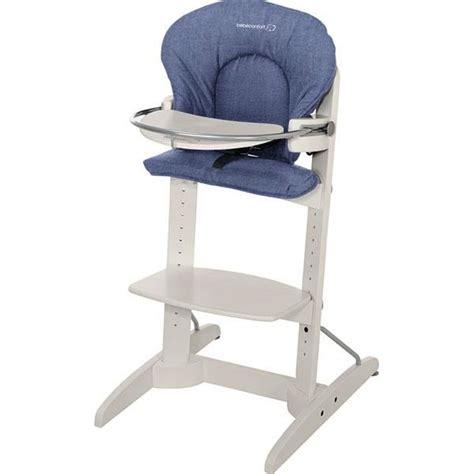 chaise haute bebe confort bebe confort chaise haute woodline denim bleu