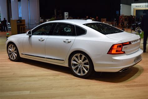 new volvo new volvo s90 sedan looking sharp on geneva show floors