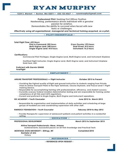 Commercial Pilot Resume Sle by Behance Resume Template Studio Design Gallery Best Design