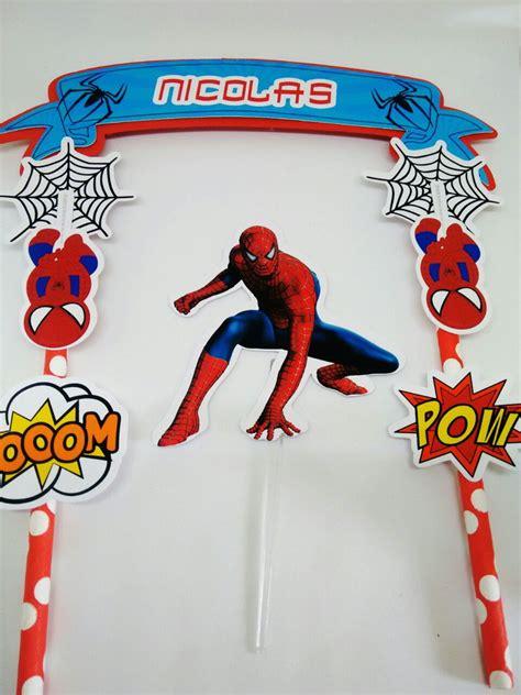 topper para bolo homem aranha no elo7 festa personalizada da mamae 9c0812