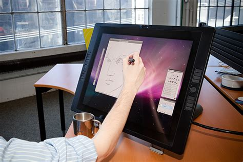 review wacom cintiq ux  display wired