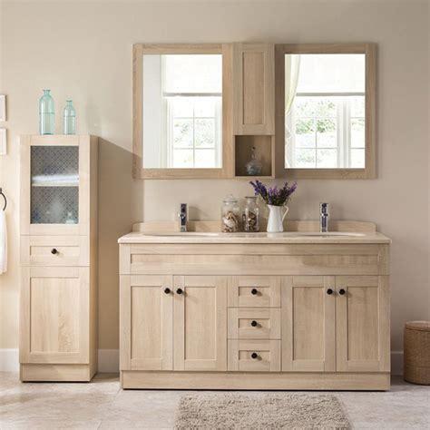 ensemble meuble vasque 150 cm couleur bois