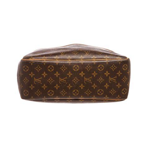 louis vuitton monogram canvas leather deauville doctor bag pre owned louis vuitton