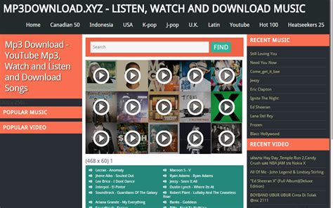 Top Free Mp3 Download Sites 2014