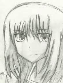 Easy Pencil Drawings Anime Angels