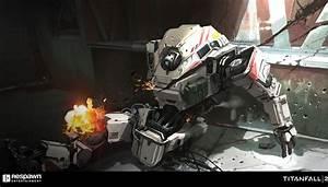 Titanfall 2 Concept Art by Jung Park | #155 - Escape The Level
