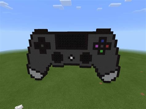 Pixel Art 3 Ps4 Console Minecraft Amino