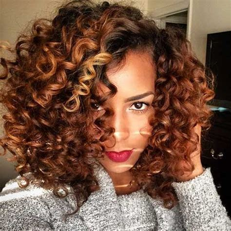 black hairstyles with color 13 curly weave hairstyles hair and makeup curly