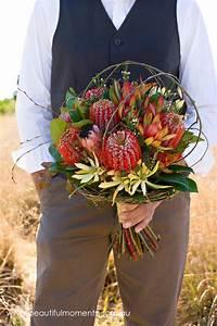 australian themed vintage style wedding ideas With wedding invitations native flowers