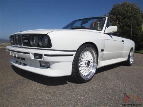 1989 Bmw 325ic Cabriolet, E30 M3 Convertible Replica S50