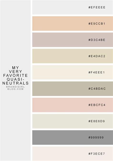 Quasineutrals  Color Palettes  Pinterest Neutral
