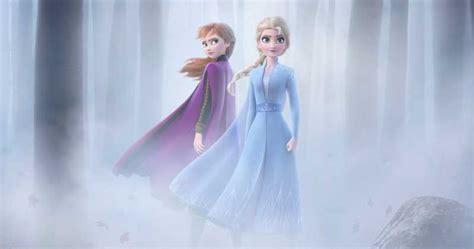 frozen  poster reunites anna queen elsa  trailer