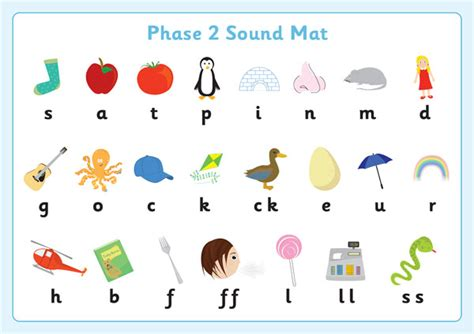Phase 2 Sound Mats  Free Early Years & Primary Teaching Resources (eyfs & Ks1