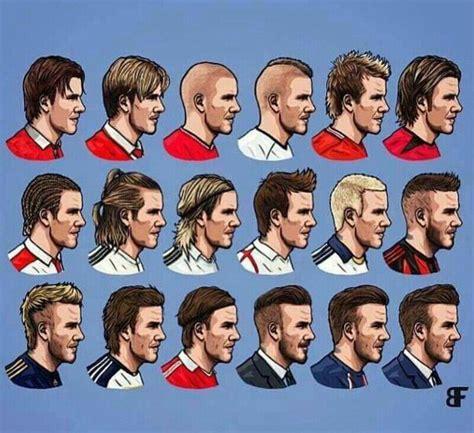 evolution  david beckhams hairstyle hairstyles
