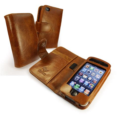 iphone 4 wallet tuff vintage leather wallet style cover for apple