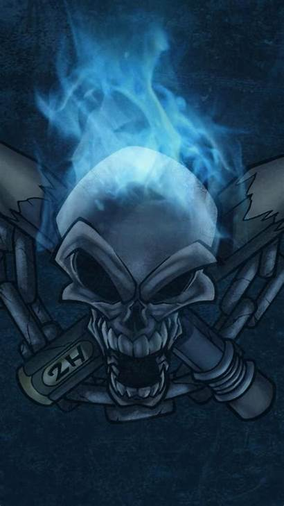 Skull Flaming Wallpapers Fire Ios