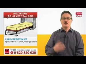 Mécanisme Lit Escamotable : m canisme de lit escamotable vertical pour cadre bois par ~ Farleysfitness.com Idées de Décoration