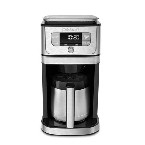 Decent coffee for under $50. Cuisinart Burr Grind and Brew 10-Cup Stainless Steel Drip ...