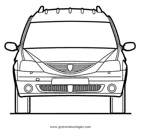 dacia logan  gratis malvorlage  autos transportmittel