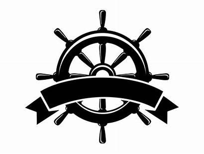 Wheel Ship Nautical Marine Anchor Svg Boat