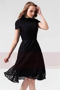robe de cocktail courte noire c867 With robe courte noir
