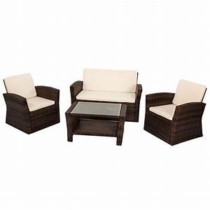 Polyrattan Sitzgruppe Braun : gartenm bel polyrattan lounge gartenset rattan sitzgruppe ~ Watch28wear.com Haus und Dekorationen