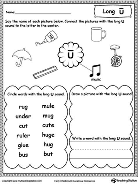 vowels short  long  sound words myteachingstationcom