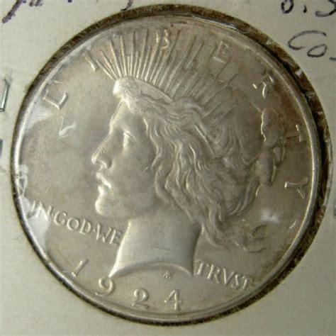 peace liberty silver dollar coin  sale antiquescom classifieds