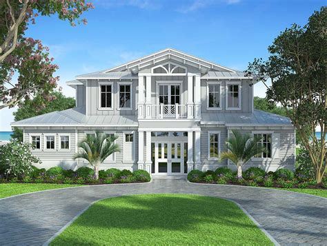 An Open Plan House With Splendid Views by Splendid Florida Style House Plan 86032bw
