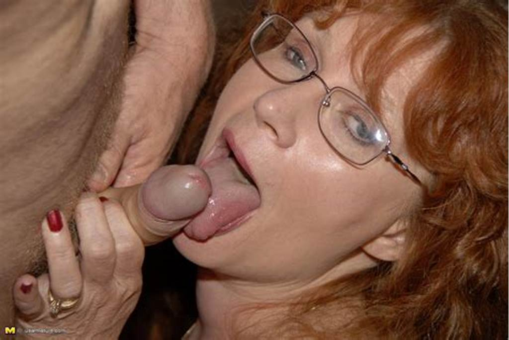 #Mature #Woman #Glasses #Blowjobs #026