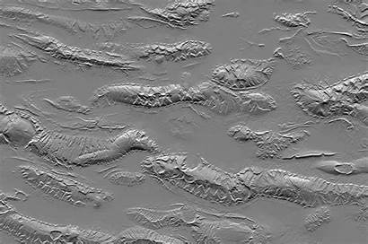 Mountains Zagros Relief Iran Srtm Anaglyph Shaded