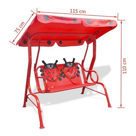siege balancoire acheter vidaxl siège balançoire pour enfants pas