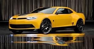 "GM เผยโฉมรถ ""2014 Camaro Bumblebee"" รถตัวใหม่ในหนัง"