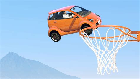 vehicle basketball gta  funny moments youtube