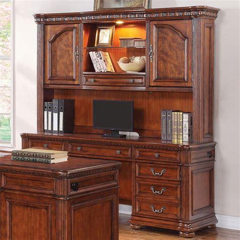 Executive Credenza by Cordoba Executive Credenza W Hutch Flexsteel Furniture Cart