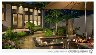 Modern House Beautiful Terrace And Landscape 15 Patio Gardens For Outdoor Recreation Home Design Lover
