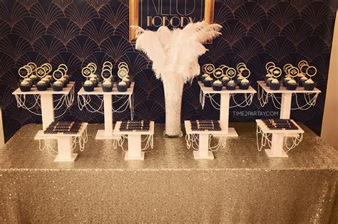 great gatsby themed graduation party timepartaycom
