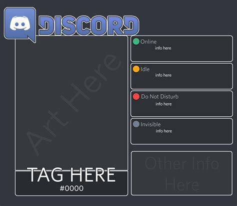 Discord Template Discord Form Template By Digigex Fur Affinity Dot Net