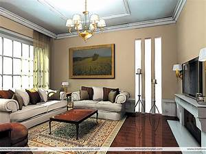 Stylish living room furniture with white english rolled for Stylish paint designs for living room