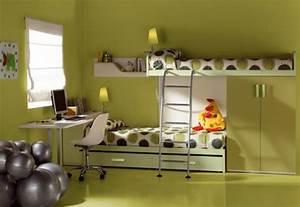 Hochbett Für Zwei Kinder : zwei jungs ein zimmer verschiedene ideen f r die raumgestaltung inspiration ~ Sanjose-hotels-ca.com Haus und Dekorationen