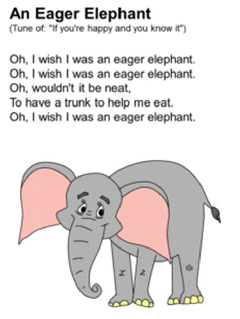 eager elephant song