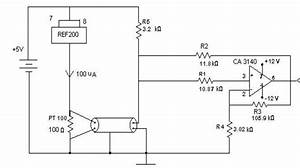 Signal Conditioning Circuit For Pt100 Temperature Sensor