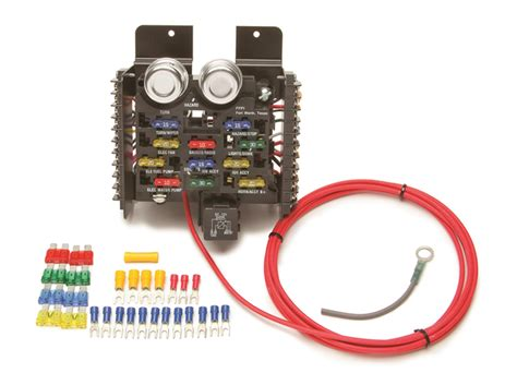 painless wiring 50101 12 circuit compact universal pro fuse block autoplicity