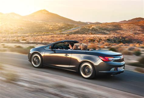 Opel Cascada Convertible In Europe Based On Buick Verano