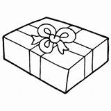 Wrapped Gift Coloring Surfnetkids sketch template