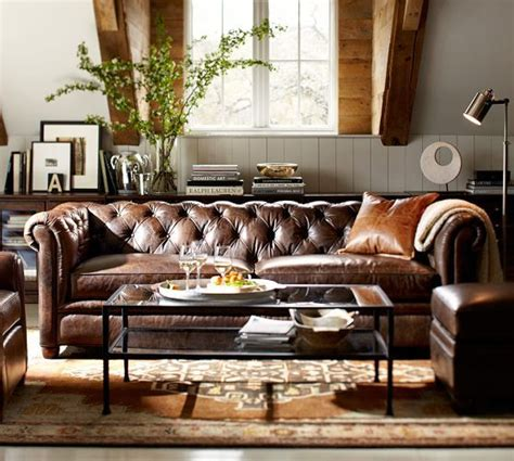 pottery barn grand sofa chesterfield leather grand sofa pottery barn for the